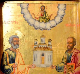 Hramul Bisericii - Sfinții Apostoli Petru și Pavel